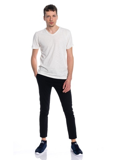 Slazenger Slazenger SET Erkek T-Shirt  Beyaz